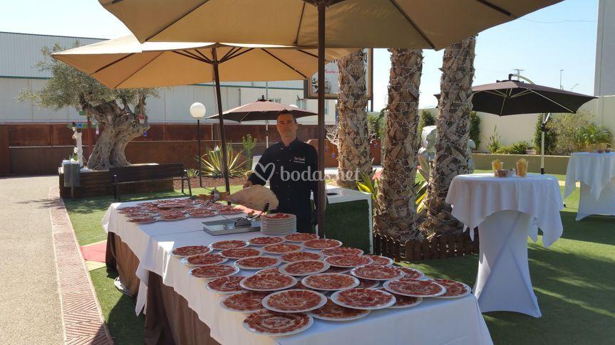 Javi Candel - Cortador de jamón