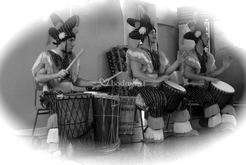 Los percusionistas