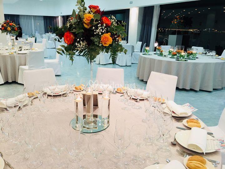 Banquete salón mediterráneo