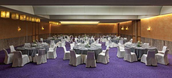 Salón boda en gris
