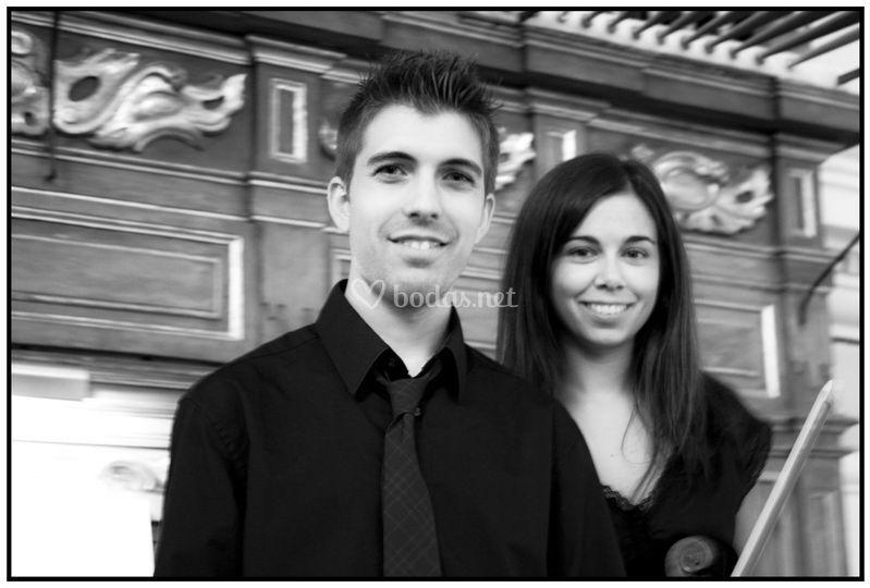 Concierto de órgano, canto y violín
