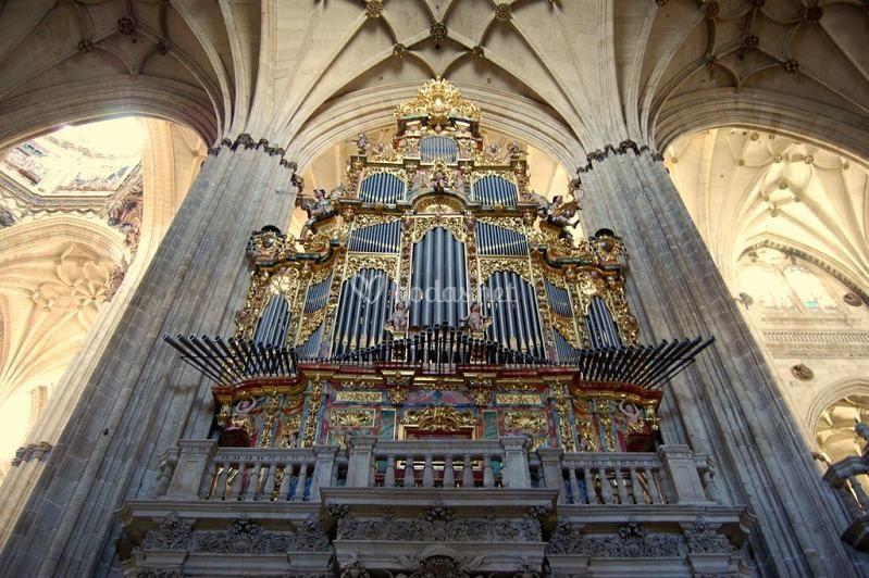 Órgano Catedral de Salamanca