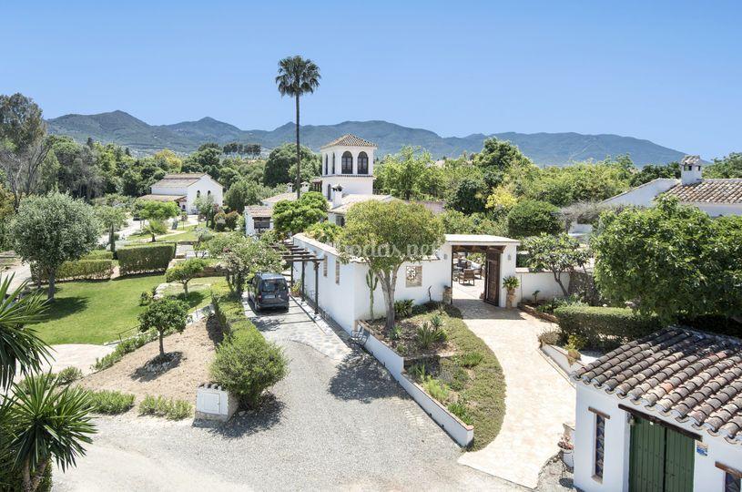 Una vista de Rancho