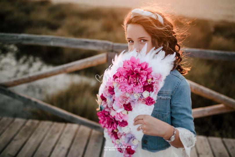Abanico de flores