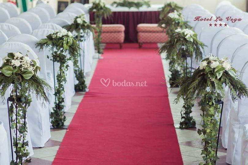 Ceremonia en la tera