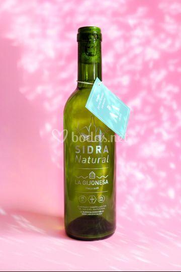 Mini botella de sidra