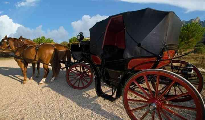 Armengol Torra - Coche de caballos