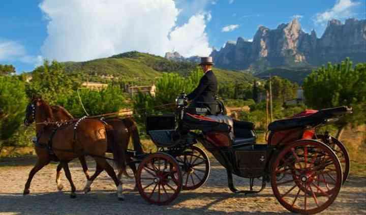 Coches caballos para boda
