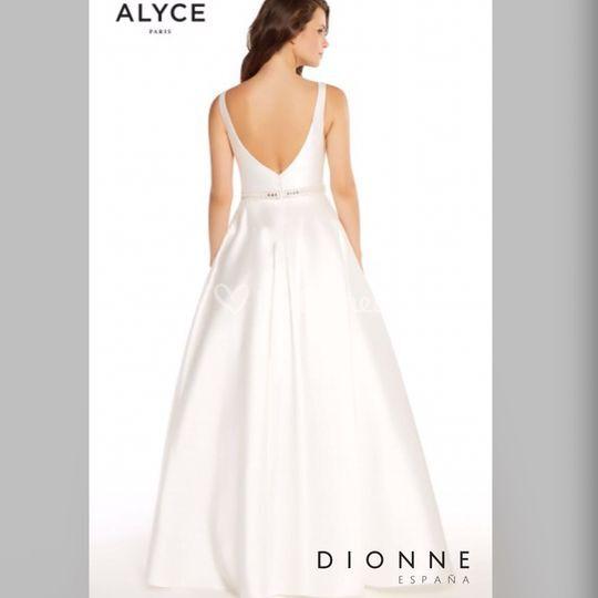 Vestido de novia Alyce