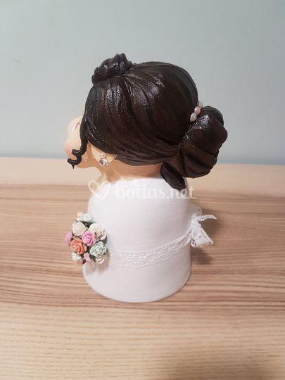 Detalles figura novia