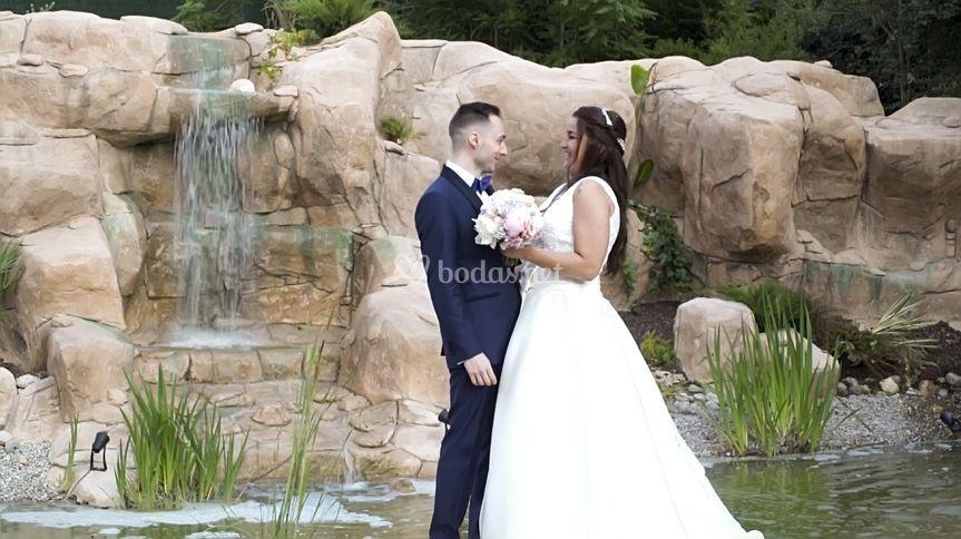Foto general novios boda