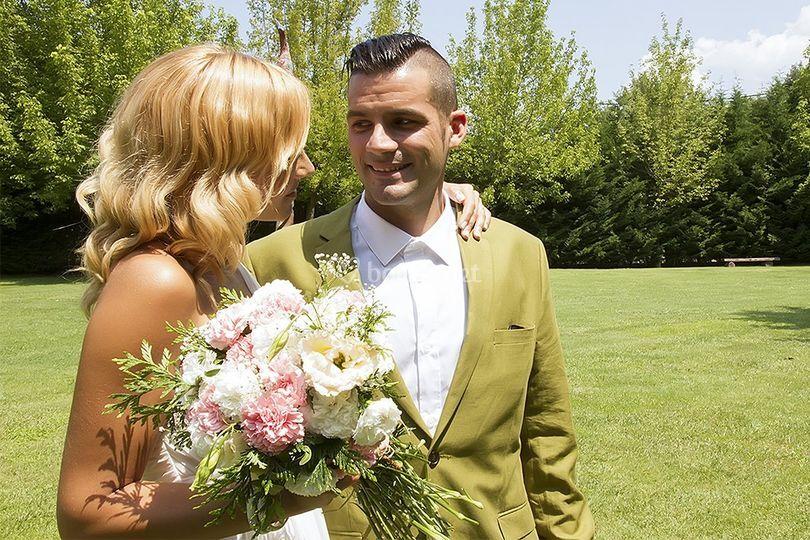 Foto de boda exterior