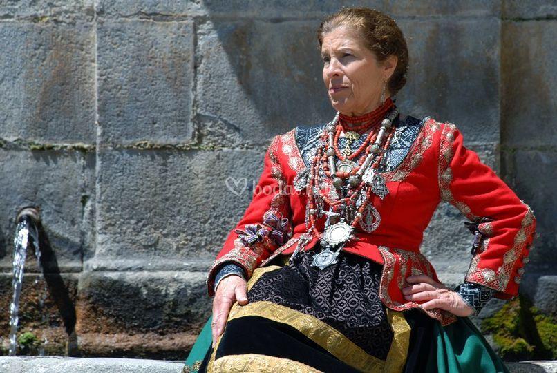 Indumentaria tradicional en Segovia