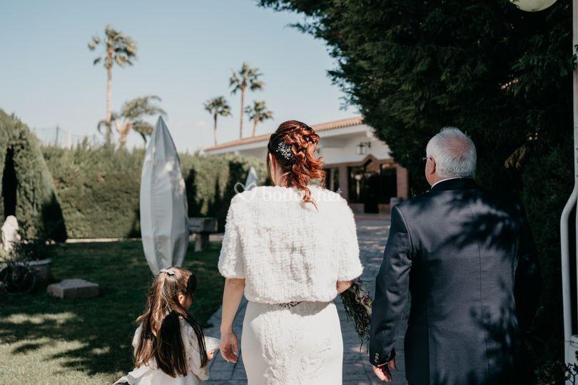 Viva el padre de la novia