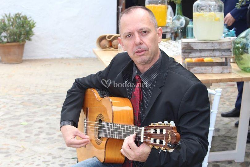 Javier Ruiz en Espartinas