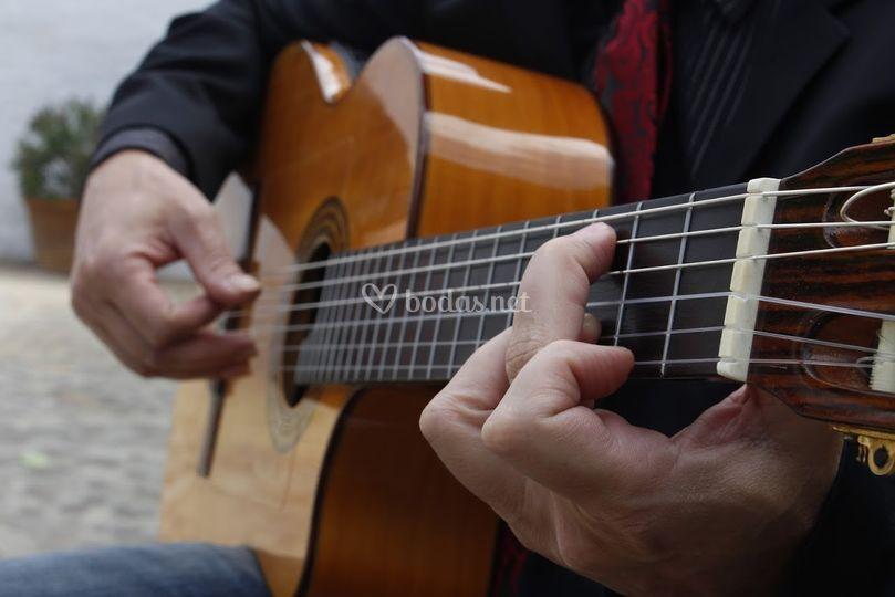 La guitarra de Javier Ruiz