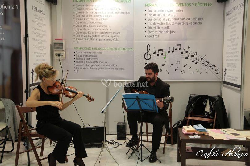 Dúo Violin y Guitarra