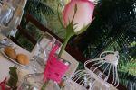 Decoraci�n de mesas de Finca San Miguel