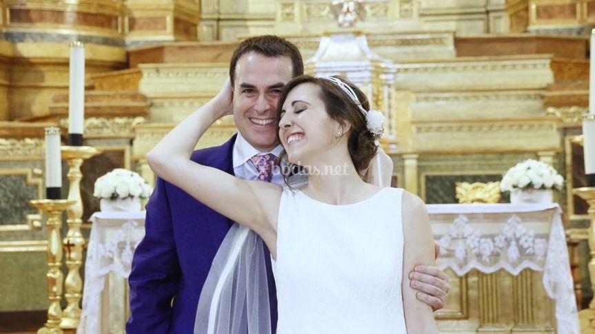 Rosa y Javier