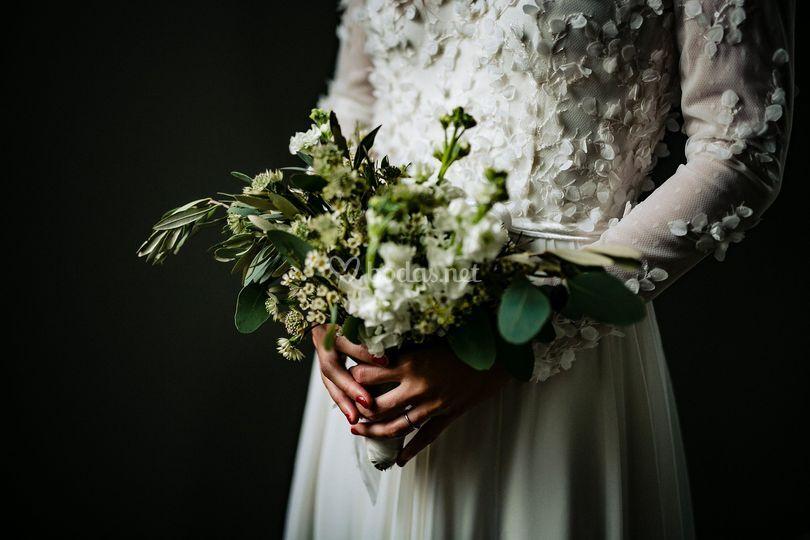 Ramo de flores de Amaia