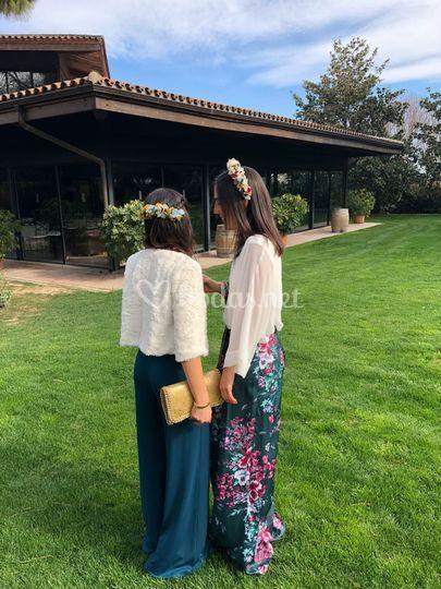 Tiara y diadema para boda