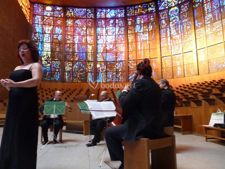 Cuarteto y soprano
