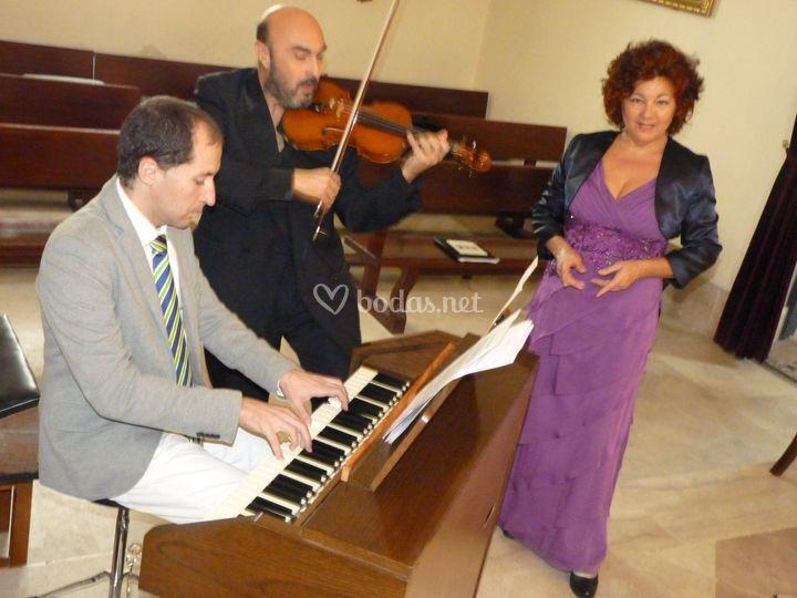 Alba Lírica- Sopran-órgan-viol