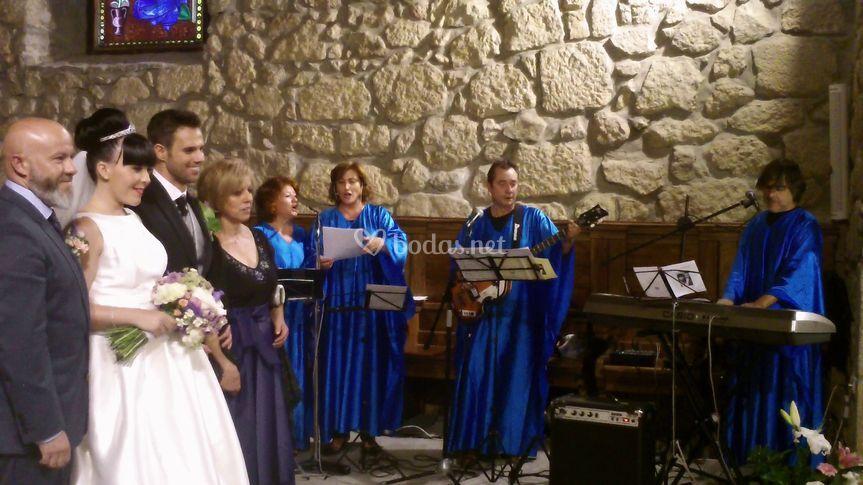 Alba Gospel en Piedralaves