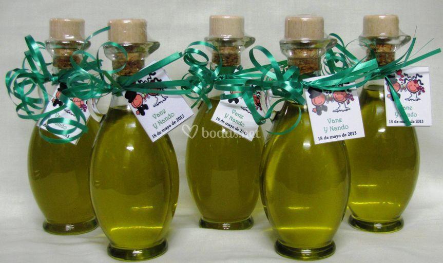 Miniaturas de aceite de oliva