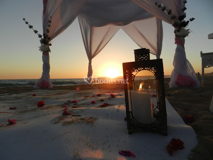 Boda playa de Zahara