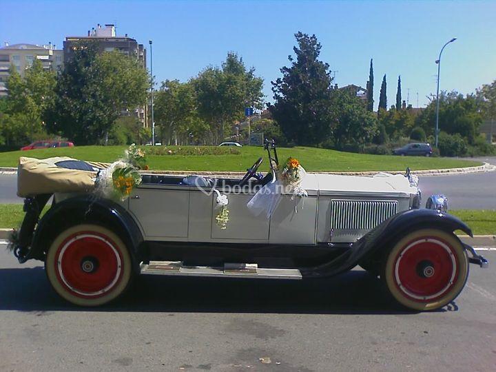 Packard blanco 1923