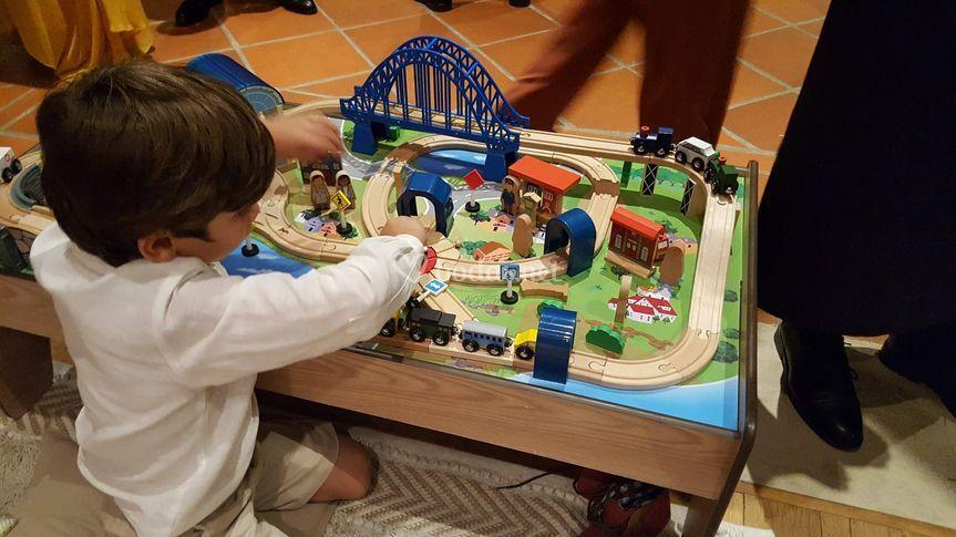 Paje y trenes