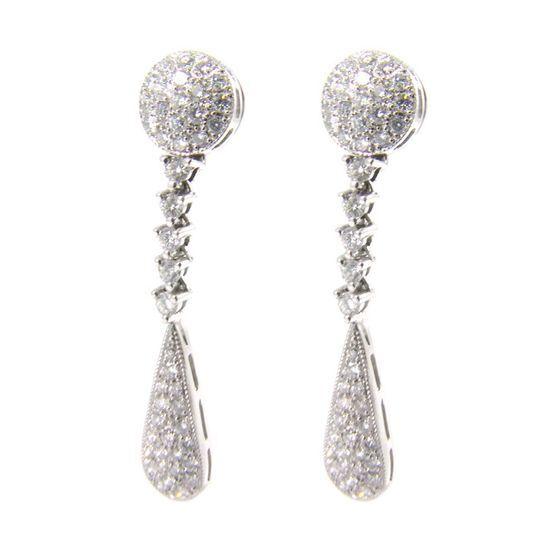 Pendientes diamantes Corcega