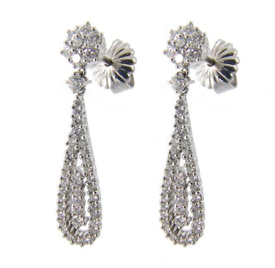 Pendientes diamantes Orleans