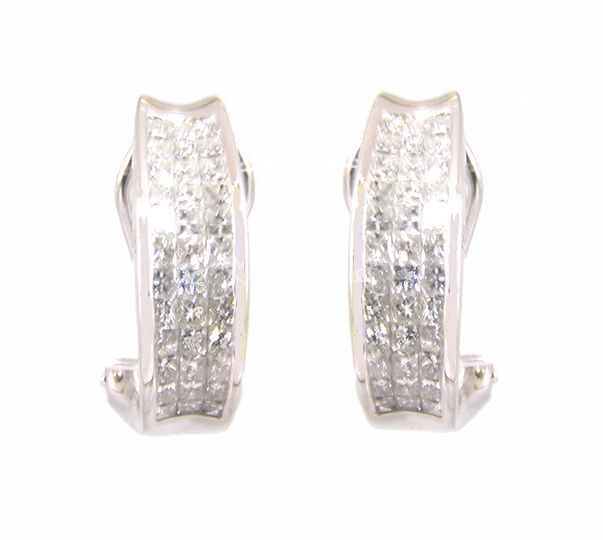 Pendientes diamantes Serena