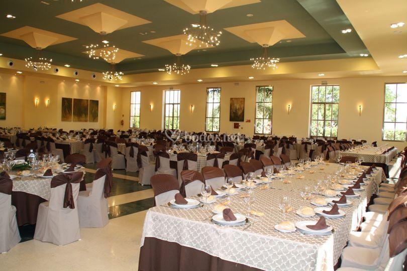 Mesas de 80 personas de salones goga foto 53 - Mesas para salones ...