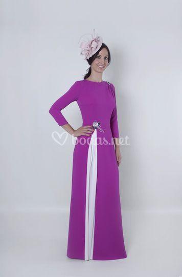 Arabela vestido largo de madrina