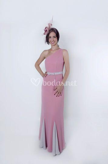 Rosetta vestido rosa de madrina