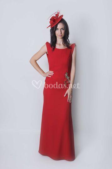 7d76c3e322 Todoceremonia Donna vestido rojo madrina
