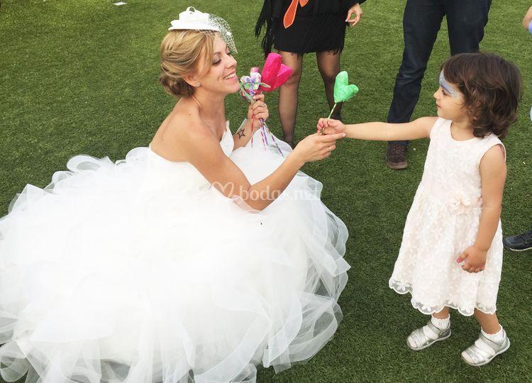 Animación infantil boda