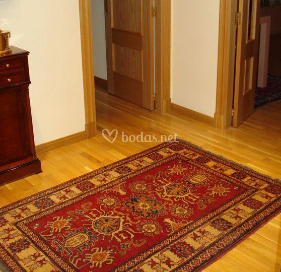 Recibidor alfombra kazak de alfombras yasmina foto 10 for Alfombras recibidor