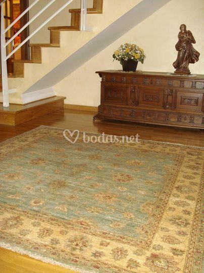 Recibidor alfombra ziegler de alfombras yasmina foto 5 - Alfombras recibidor ...