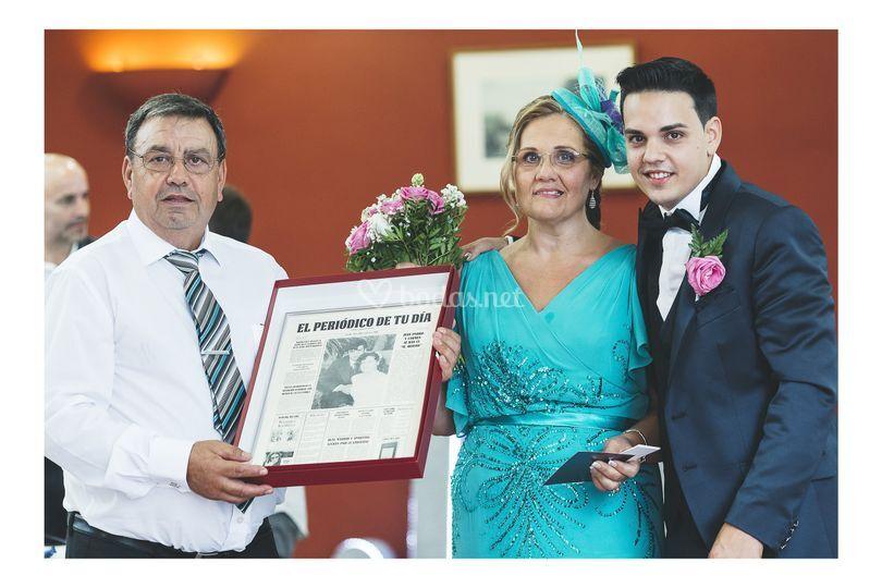 Regalo padres boda