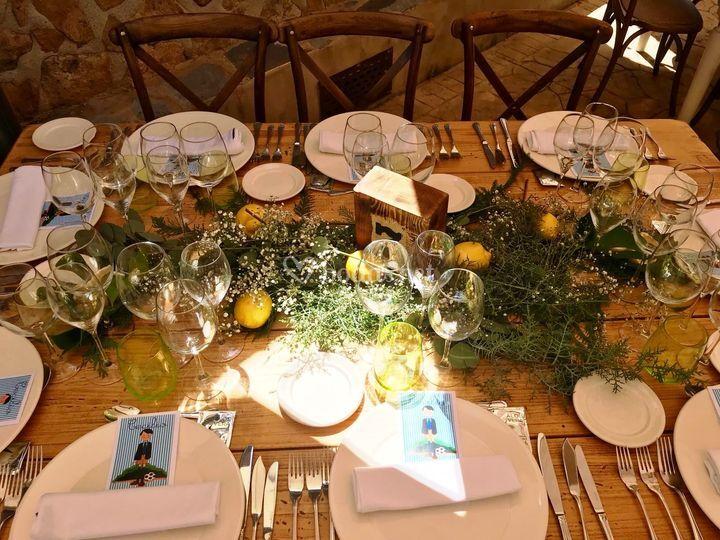 Deco mesa