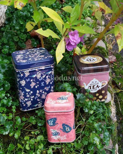 Gran variedad de latas