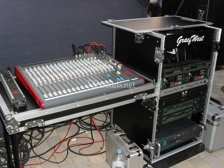 Equipos de luz y sonido profesionales