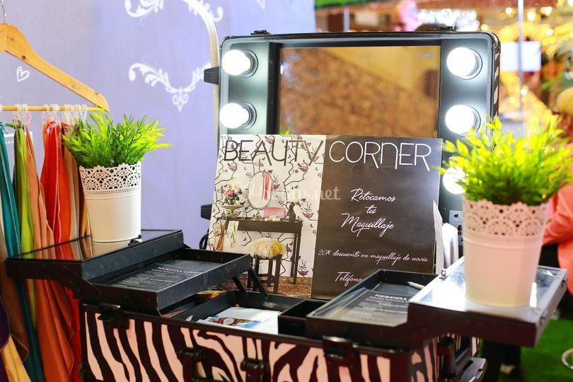 Detalles del Beauty Corner