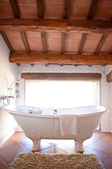 Bañera en la Suite