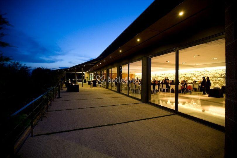 Terraza sala banquetes