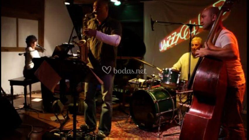 Jazz quartet instrumental